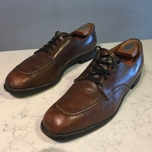 RED WING Brown Leather Oxford Shoes (12)